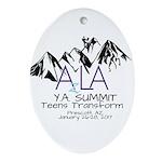 YA Summit 2017 Oval Ornament