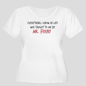 Mr. Feeny Tau Women's Plus Size Scoop Neck T-Shirt