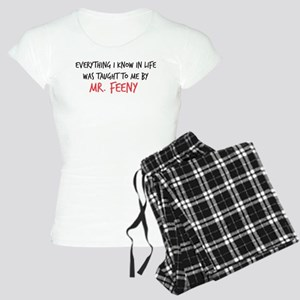 Mr. Feeny Taught Me Women's Light Pajamas
