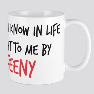 Mr. Feeny Taught Me Mug