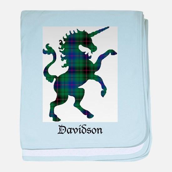Unicorn - Davidson baby blanket