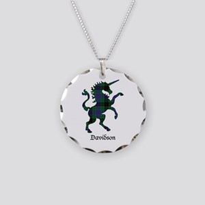 Unicorn - Davidson Necklace Circle Charm
