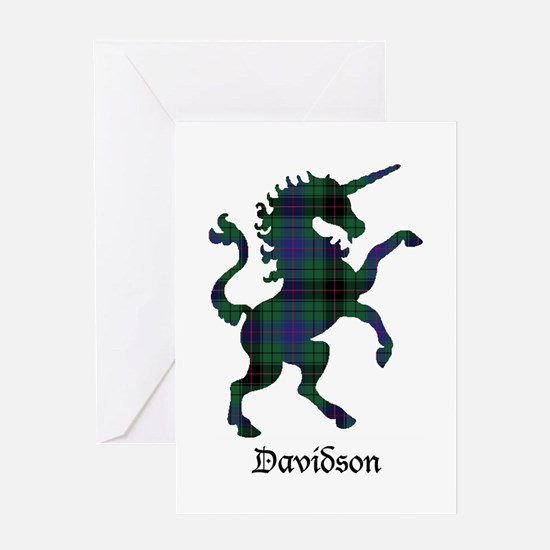 Unicorn - Davidson Greeting Card