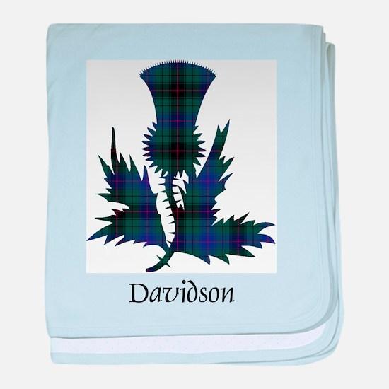 Thistle - Davidson baby blanket