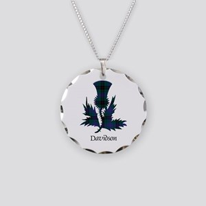 Thistle - Davidson Necklace Circle Charm
