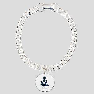 Thistle - Davidson Charm Bracelet, One Charm