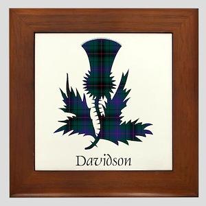Thistle - Davidson Framed Tile
