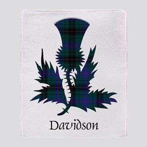 Thistle - Davidson Throw Blanket
