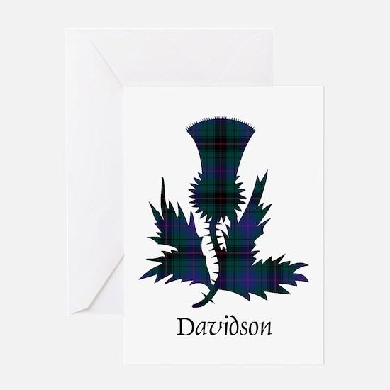 Thistle - Davidson Greeting Card