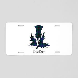Thistle - Davidson Aluminum License Plate