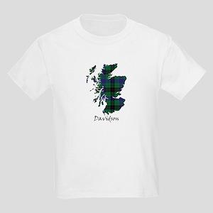 Map - Davidson Kids Light T-Shirt