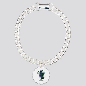 Map - Davidson Charm Bracelet, One Charm