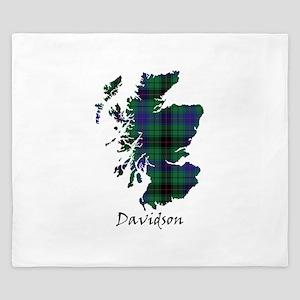 Map - Davidson King Duvet