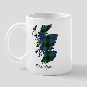 Map - Davidson Mug