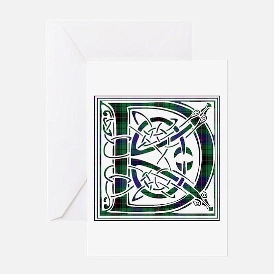 Monogram - Davidson Greeting Card