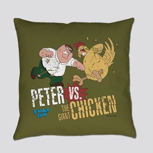 Family Guy Peter vs. The Giant Chi Everyday Pillow