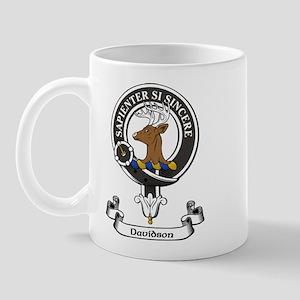 Badge - Davidson Mug