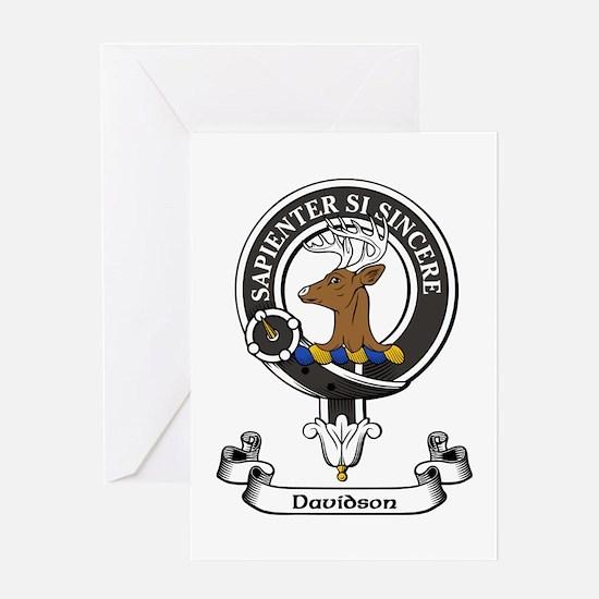 Badge - Davidson Greeting Card