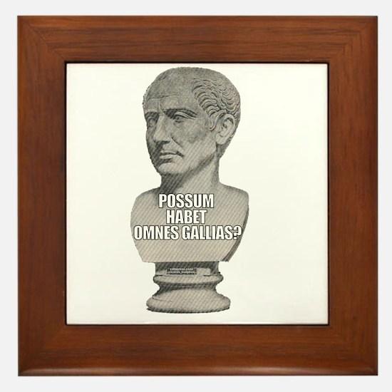 LOLcaesar Framed Tile