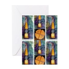 Delgean Spindle Greeting Cards