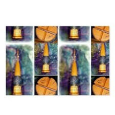 Delgean Spindle Postcards (Package of 8)
