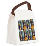 Delgean Spindle Canvas Lunch Bag