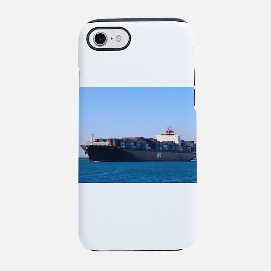 Container cargo ship 6 iPhone 8/7 Tough Case