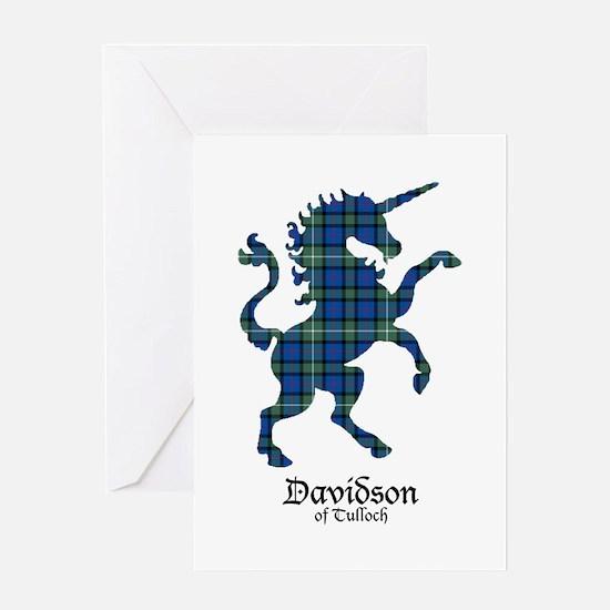 Unicorn-DavidsonTulloch Greeting Card