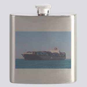 Container cargo ship 6 Flask