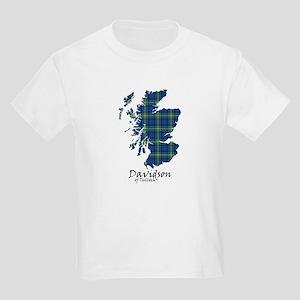 Map - Davidson of Tulloch Kids Light T-Shirt