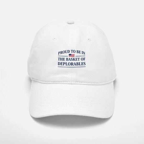 The Basket Of Deplorables Baseball Baseball Baseball Cap