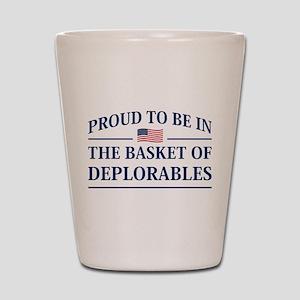 The Basket Of Deplorables Shot Glass