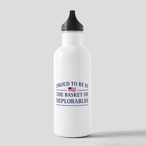 The Basket Of Deplorables Water Bottle