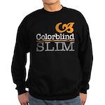 ColorblindSlimLogoWhite Jumper Sweater