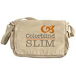 ColorblindSlimLogo Messenger Bag