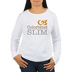 ColorblindSlimLogo Long Sleeve T-Shirt