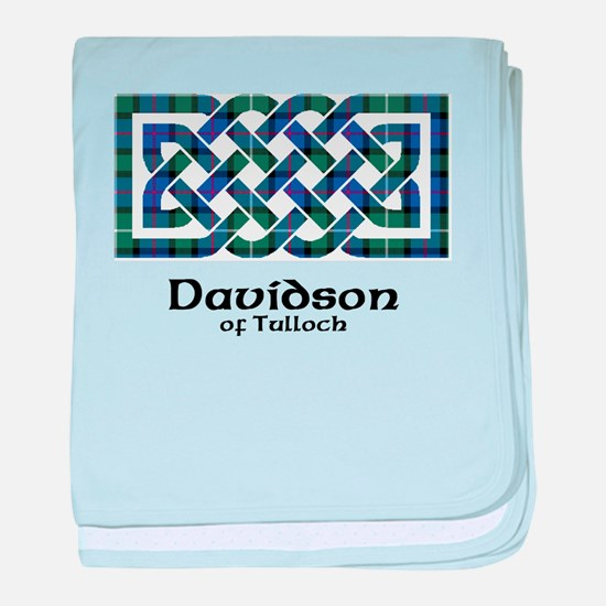 Knot - Davidson of Tulloch baby blanket