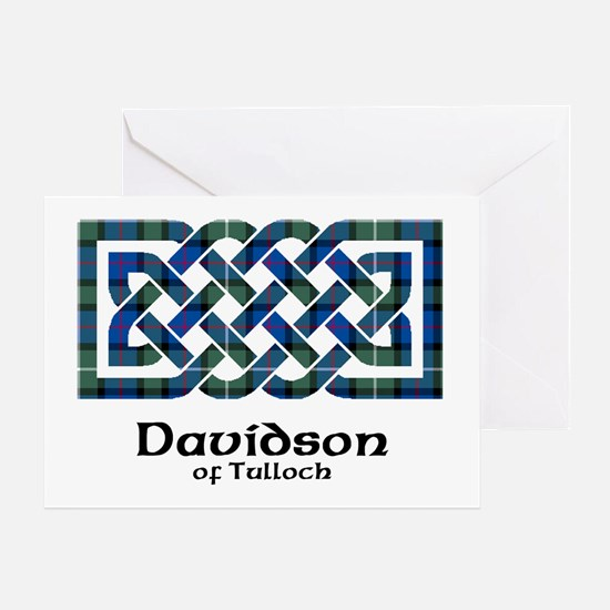 Knot - Davidson of Tulloch Greeting Card