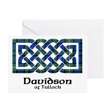 Knot - Davidson of Tulloch Greeting Cards (Pk of 1