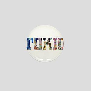 Tokio Japan Typography Mini Button