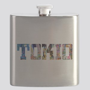 Tokio Japan Typography Flask