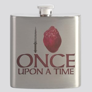 I Heart Once Upon a Time Flask