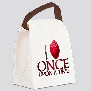 I Heart Once Upon a Time Canvas Lunch Bag