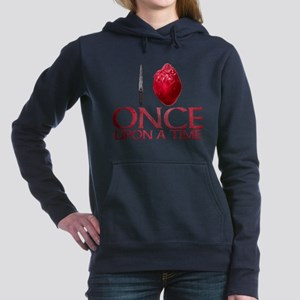 I Heart Once Upon a Time Woman's Hooded Sweatshirt