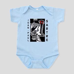 Jean-Paul Sartre Infant Bodysuit