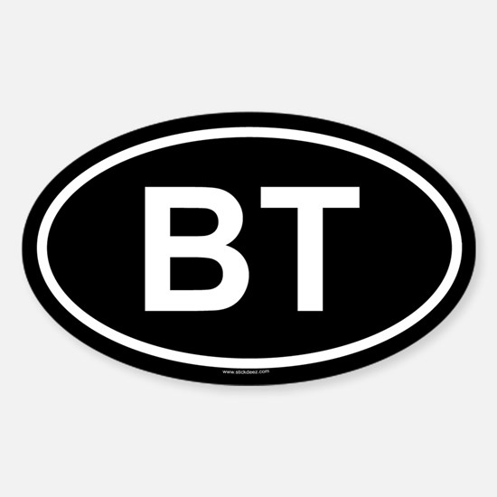 BT Oval Decal