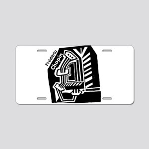 Frederic Chopin Aluminum License Plate