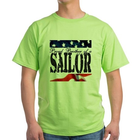 Proud Brother Green T-Shirt