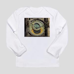 Prague Astronomical Clock Towe Long Sleeve T-Shirt
