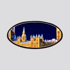 Houses of Parliament with Big Ben, London Patch